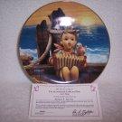 """Hummel Gentle Friends Plate-""""Let's Sing"""" w/certificate"""