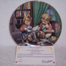 "Hummel Little Companions Plate-""Budding Scholars"" w/certificate"