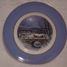 AVON CHRISTMAS PLATE 1979 WEDGWOOD DASHING