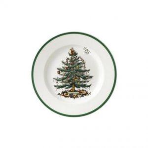 Spode Christmas Tree Salad Plates 7.5 inch (2 Each)