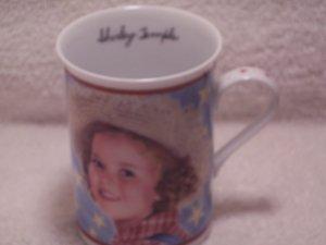 Danbury Mint Fine Porcelain Mug Shirley Temple Rebecca of Sunnybrook Farm 1938