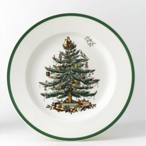 Spode Christmas Tree Bowl 10.5 in Dia.