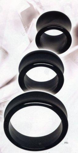 Black Acrylic Flared Eyelet