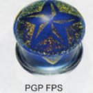 Dichro Printed Plug 5 Point Star