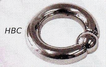Hallow Ball Closure Ring