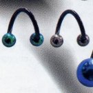 Blackline Body Spiral with Titanium Balls