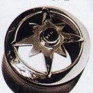 Jewelled Compass Hybrid Silver Buffalo Plug