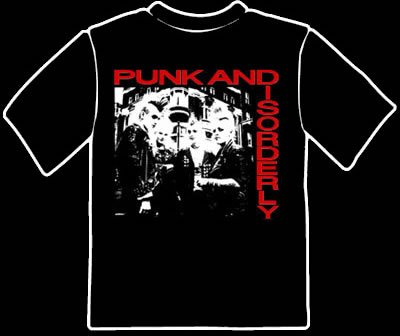 Punk and Disorderly Tee