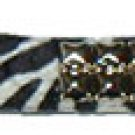 Studded Zebra Belt