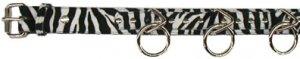 Zebra Ring Belt