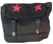 Black Messenger Star Bag