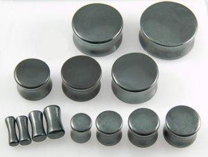 Hematite Stone Plug