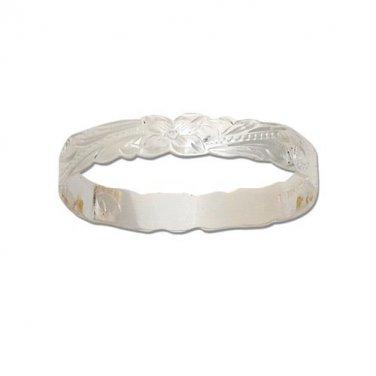 Hawaiian Heirloom Jewelry Sterling Silver Child Keiki Bracelet from Hawaii