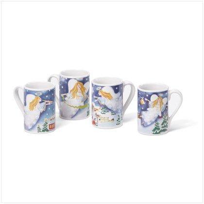 Christmas Angel Mugs Set of 4