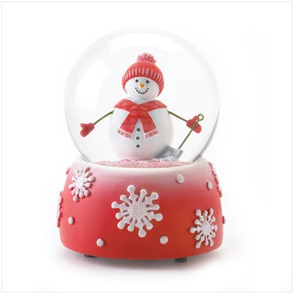 Perfectly Plaid Snowglobe by Dylan Designs