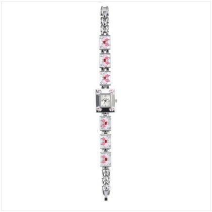 Pink Butterfly Watch