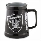 Sculpted Tankard- Oakland Raiders