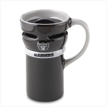 Ceramic Travel Mug- Oakland Raiders