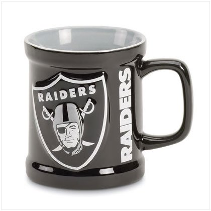 Sculpted Mug- Oakland Raiders