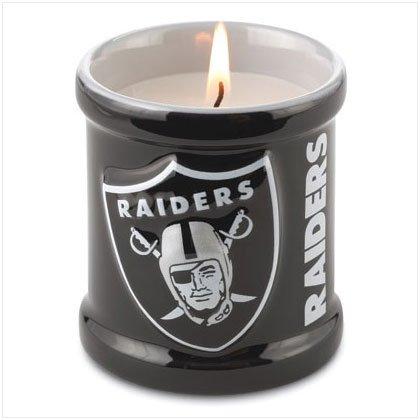 Votive Candle - Oakland Raiders