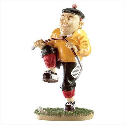 Frustrated Golfer Sculpture