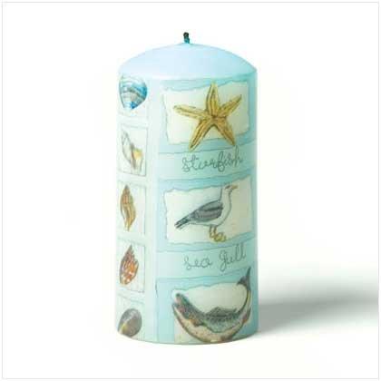 Coastline Scent Pillar Candle