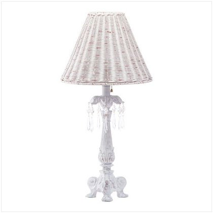 Crystal Accented Column Lamp