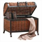 Rattan Treasure Chest