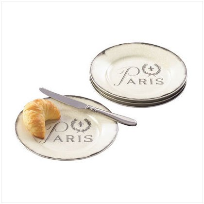Paris Dessert Plate Set