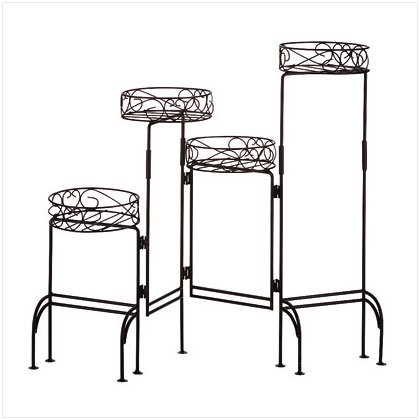 Four-Tier Plant Stand Screen