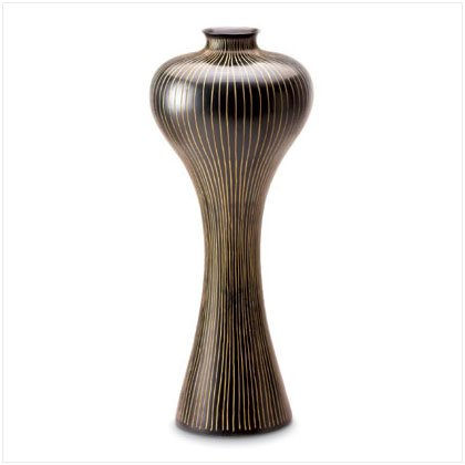 Striped and Shapely Vase