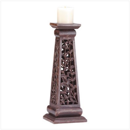 Floral Candle Column
