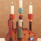 African Candleholder