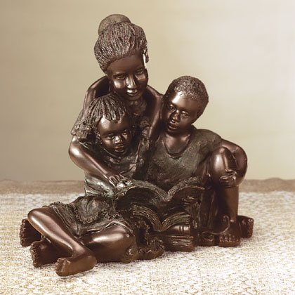A Mother Teaches Figurine