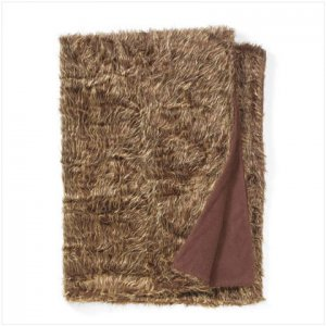 Twin Size Faux Fur Blanket