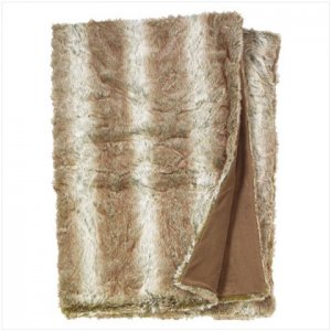 Forest Full Size Faux Fur Blanket