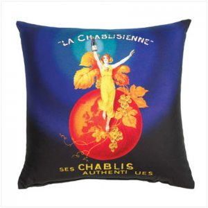 LA CHABLISIENNE ART PILLOW