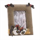 Fabric Chicken Photo Frame