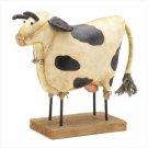 Fabric Cow Figurine