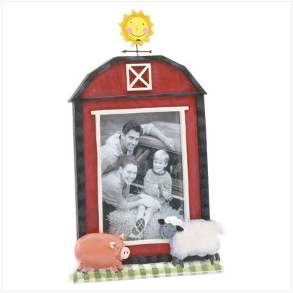 Farmyard Barn Photo Frame