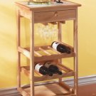 Tile Topped Kitchen Trolley