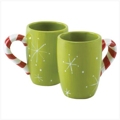 Christmas Caroling Mugs - Set of 2