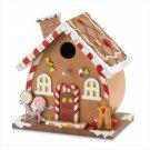 Wooden Gingerbread Birdhouse