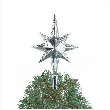 Silver Star Tree Topper