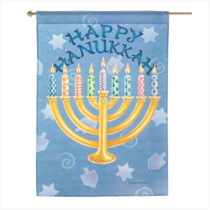 Happy Hanukkah Flag