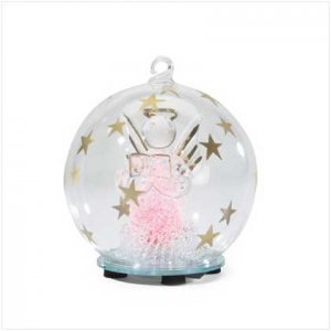 Light Up Angel Ornament
