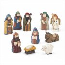 10 Piece Nativity Set