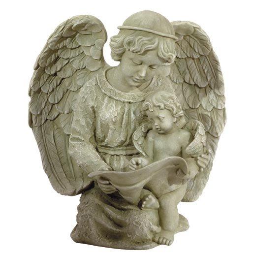 Angel and Cherub Statue