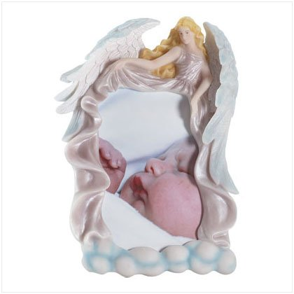 """Angel In Clouds 4"""" x 6"""" Photo Frame"""