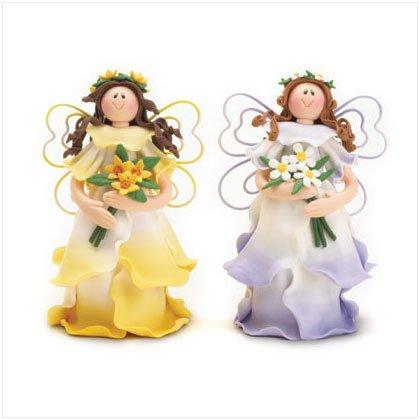Whimsical Clay Fairies